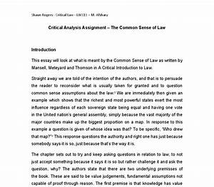 Example Of Essay Proposal  About My Community Common Law Civil Law Essay Pdf College Of  Charleston Essay Business Management Essays also English Essay Internet Common Law Essay Industrial Revolution Essays Common Law Essays C  Private High School Admission Essay Examples
