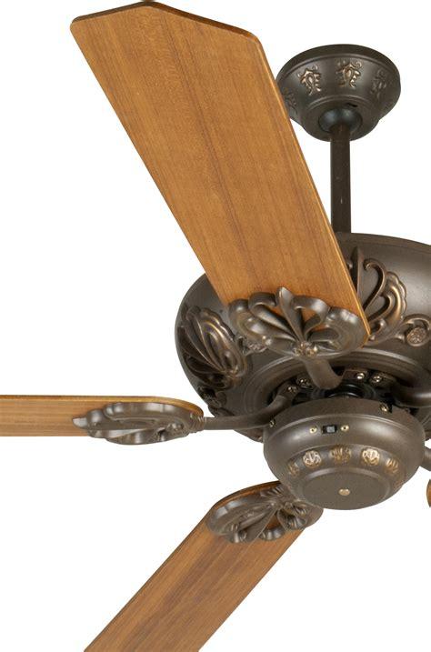 Craftmade Cordova Ceiling Fan With Five 52 Custom Wood