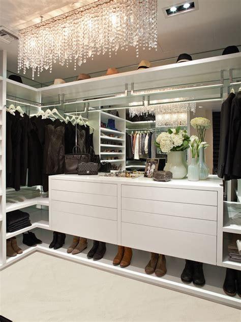 la closet design linear strand chandelier contemporary closet
