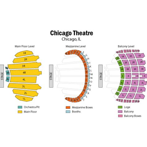 chicago theater seat map swimnova chicago theater seat map bnhspine