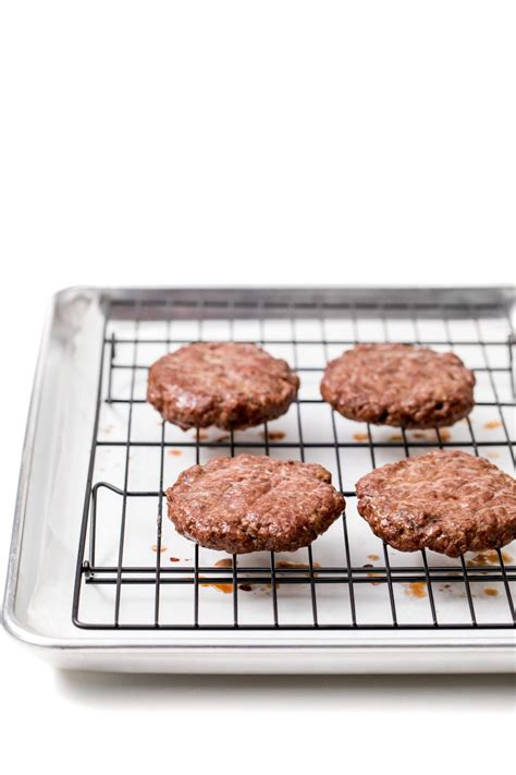 oven burgers recipe baked roasted easy hamburger hamburgers