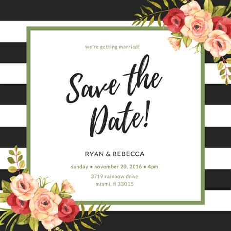Criar Convite Save The Date Grátis