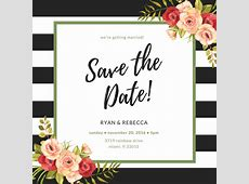 Make Your Own Save The Date Cards Canva