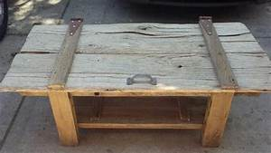 barn door coffee table etsy your place to buy and sell With barn door coffee table for sale