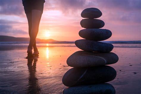 picture beach sea sunset ocean water balance