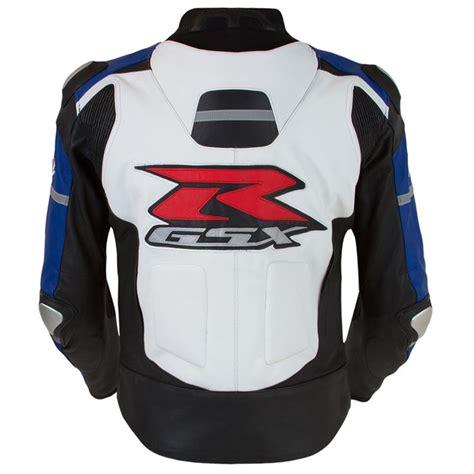 Suzuki Gsxr Jacket by Gsx R Leather Jacket Blue White Babbitts Suzuki Partshouse