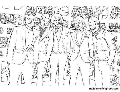 direction coloring pages squid army