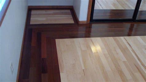 Walnut and Maple Hardwood Floor Installation   YouTube