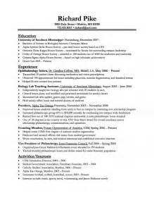 resumes for high students with no work experience template biologist resume