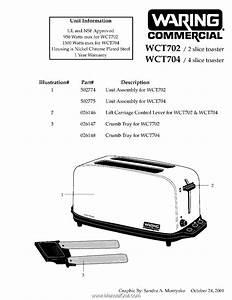 Waring Wct704