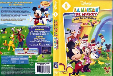 jaquette dvd de la maison de mickey des aventures en