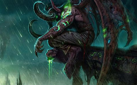 World Of Warcraft Animated Wallpaper - illidan animated wallpaper wallpapersafari