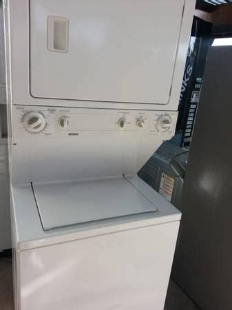 kenmore stackable washerelectric dryer super capacity