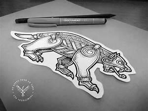 Tatouage Loup Celtique : les 25 meilleures id es de la cat gorie celtique tatouage loup sur pinterest dessins ~ Farleysfitness.com Idées de Décoration