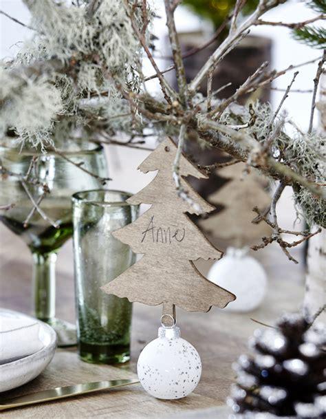 Une Décoration De Table De Noël Comme à La Montagne Déco