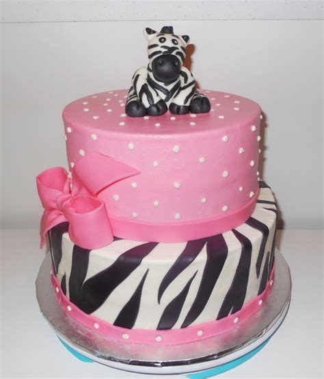 Decorating Ideas Zebra Print Birthday by Zebra Cakes Decoration Ideas Birthday Cakes