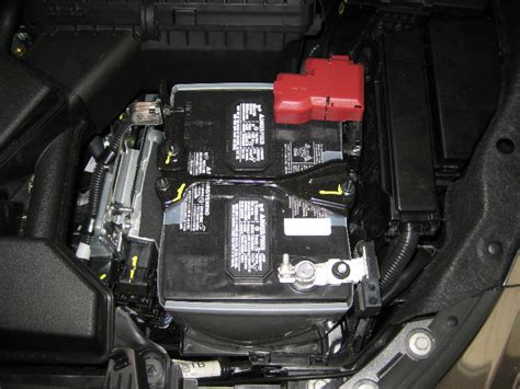 nissan altima  automotive battery replacement