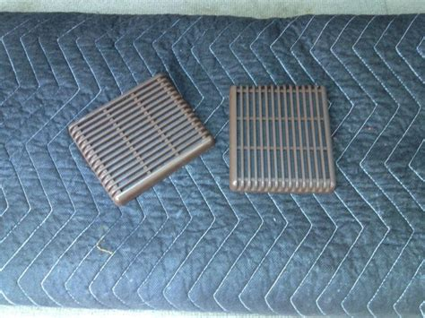 sell volvo  front door speaker  brown grille rare