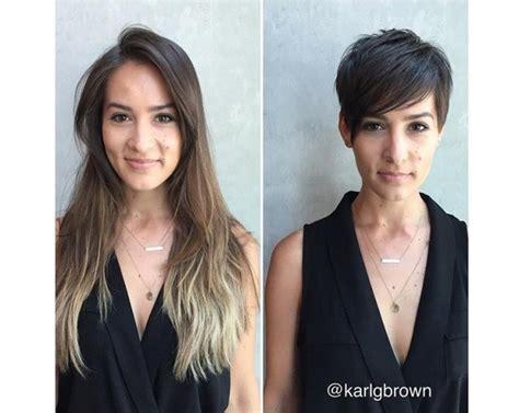30 Photos Avant/après Coupes Cheveux Pour Vous Inspirer
