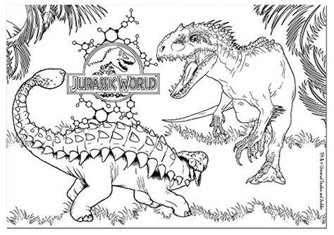 disegni da colorare dinosauri jurassic world disegno jurassic world 4 animali da colorare