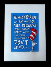 Cat and the Hat Dr. Seuss Quotes