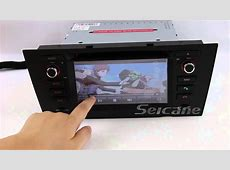 BMW 3 series e90 Aftermarket OEM navigation system YouTube