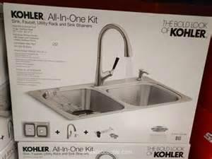 change kitchen faucet kohler all in one kit