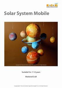 How to make a Solar System Model – Mocomi Kids