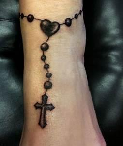 40 Holy Rosary Tattoos, Rosary Beads, Rosary Cross