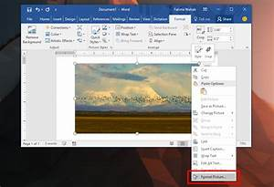 How To Sharpen An Image In Ms Word