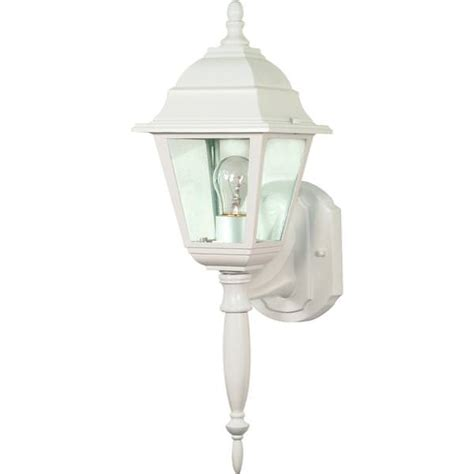 nuvo lighting 60540 1 light medium screw base 6 quot white