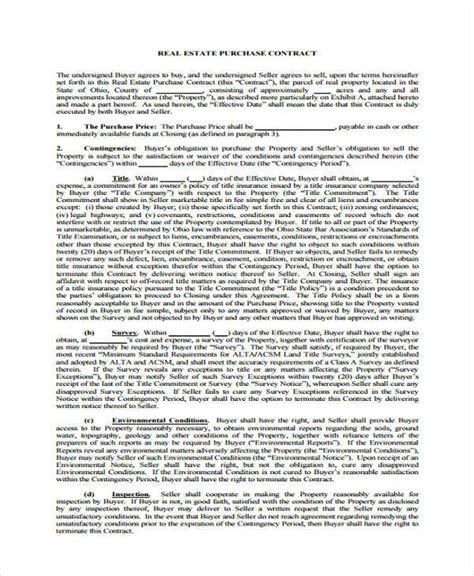 generic purchase agreement form samples  word