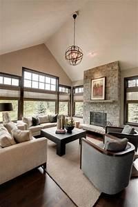 55, Most, Popular, Transitional, Living, Room, Design, Ideas, For