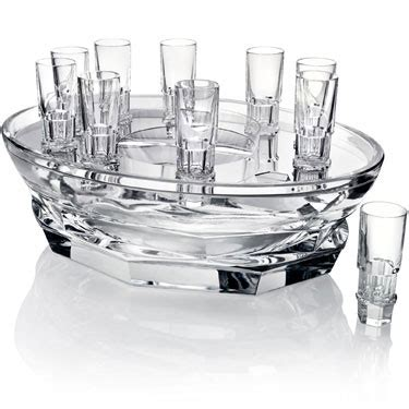 baccarat barware baccarat stemware barware abysse from luxurycrystal