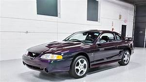 This mystichrome Mustang SVT Cobra for sale is a time capsule fro
