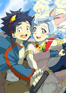 Gurren Lagann - Simon and Nia | Gurren Lagann | Pinterest ...