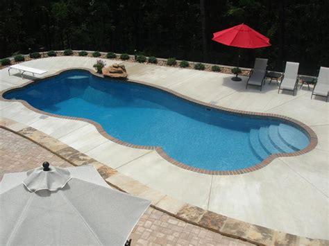 Fiberglass Inground Swimming Pool Designs