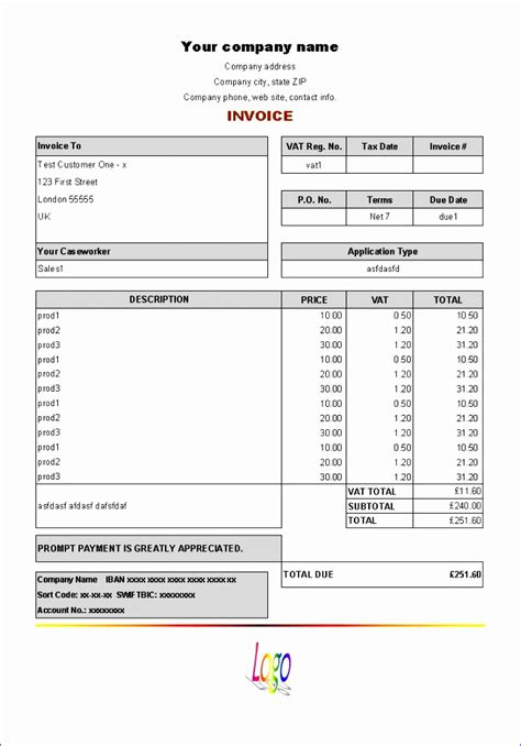 purchase order excel template exceltemplates