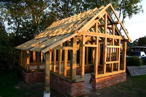 Post & Beam Living Inspirations Timber Frame Shed Plans