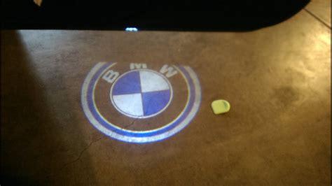 bmw  logo light easy  plugging install