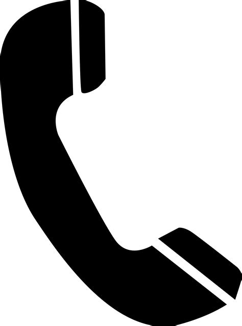 telephone icon vector transparent logo clipart phone pencil and in color logo clipart phone
