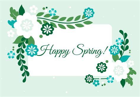 spring season vector background