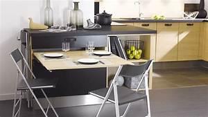 20 idees pour une petite cuisine fonctionnelle diaporama for Cuisine avec salle a manger intégrée pour petite cuisine Équipée