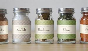 custom spice labels and jar labels stickeryou products With diy waterproof labels for jars