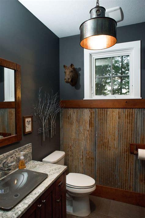 gauntlet gray sherwin williams rustic bathroom gauntlet gray gray and half