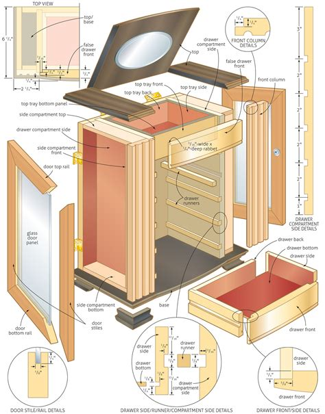 jewelry box woodworking plans woodshop plans