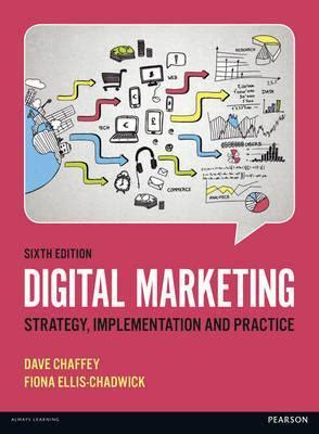 digital marketing books digital marketing dave chaffey 9781292077611