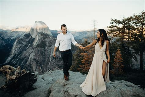 yosemite engagement  portland wedding photographer
