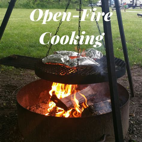 fire open cooking mom
