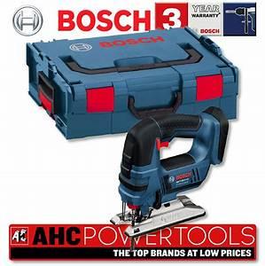 Bosch Pro 18v : bosch gst18v lin professional 18v cordless jigsaw body ~ Carolinahurricanesstore.com Idées de Décoration